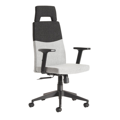 Executive & managers seating Leon two tone fabric managers chair