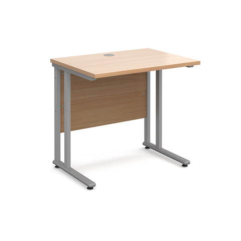 Maestro25 SL Straight desks 600mm deep