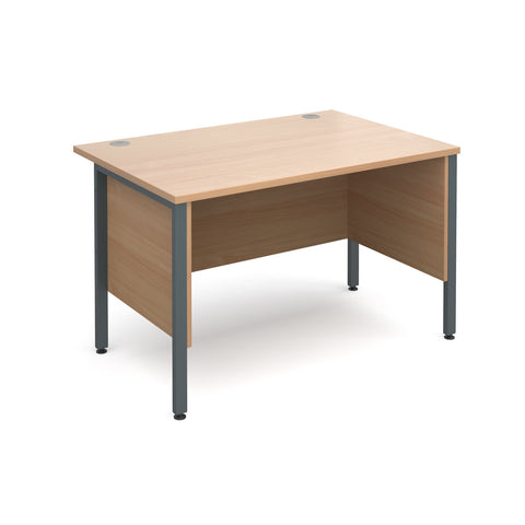 Maestro25 GL Straight desks with side modesty panels