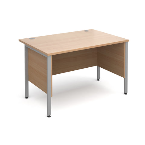 Maestro25 SL Straight desks with side modesty panels