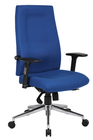 24hr & ergonomic seating  Mode 400 contract high back managers chair