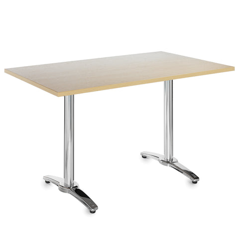 Café tables Roma rectangular top tables