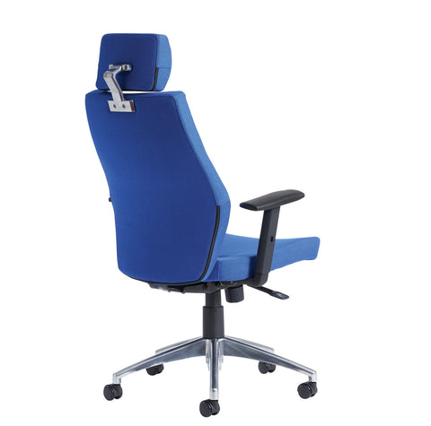 24hr & ergonomic seating  Sefton high back task chair with headrest