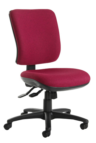 Task & operator seating Senza high back with no arms