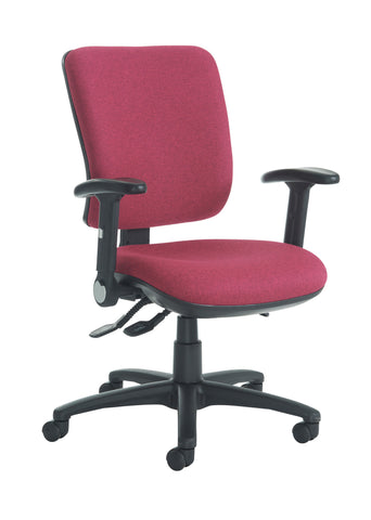 Task & operator seating Senza high back with folding arms