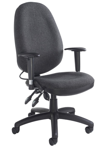Task & operator seating Sofia adjustable lumbar operator chair