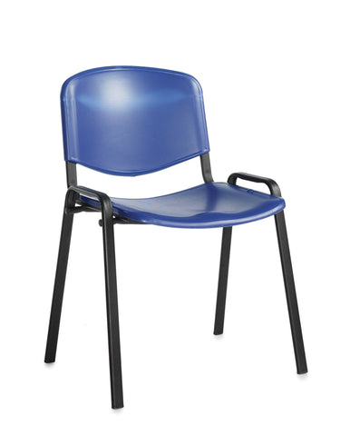 Conference & meeting seating  Plastic stacking chair with no arms