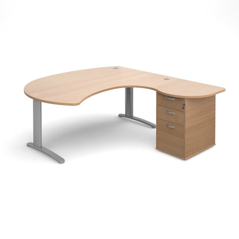 TR10 Right hand managers desks