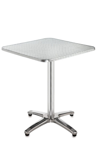 Café tables Square aluminium table