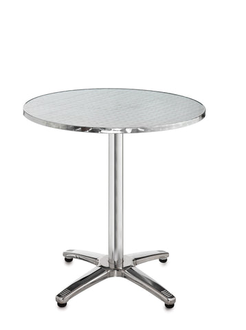 Café tables Round aluminium table