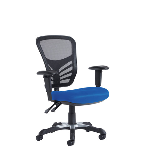 Task & operator seating Vantage mesh back 3 lever chair adjustable arms