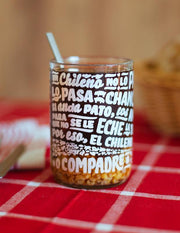 Un Chileno con Glass - Pack de Vasos Chilenos