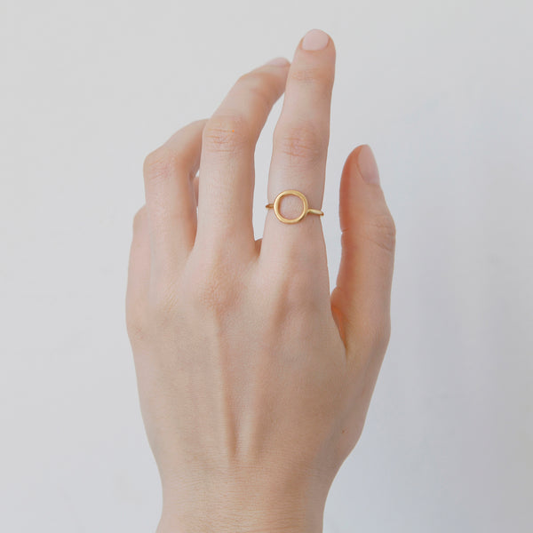 'Oh Solid Gold' 18ct Gold Ring