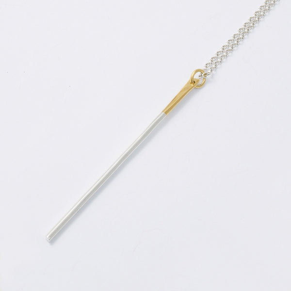 'Baaaaa' 18ct Gold and Silver Long Necklace