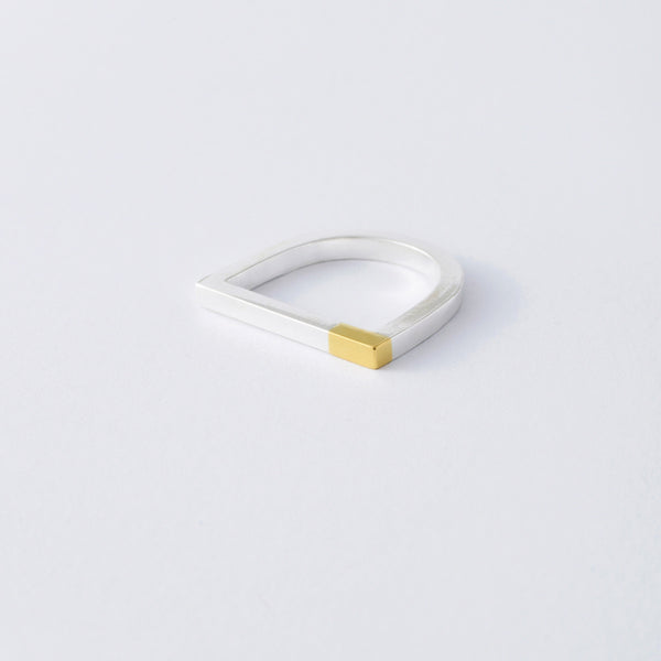 'So Magnetic' 18ct Gold & Silver Ring