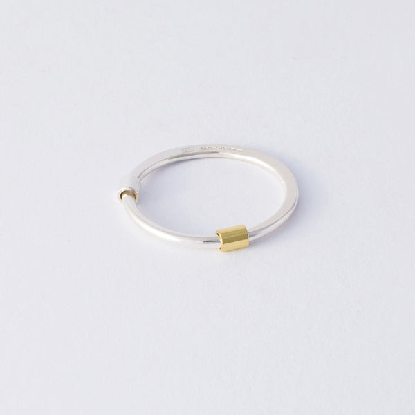 'Move Me' 18ct Gold & Silver Ring