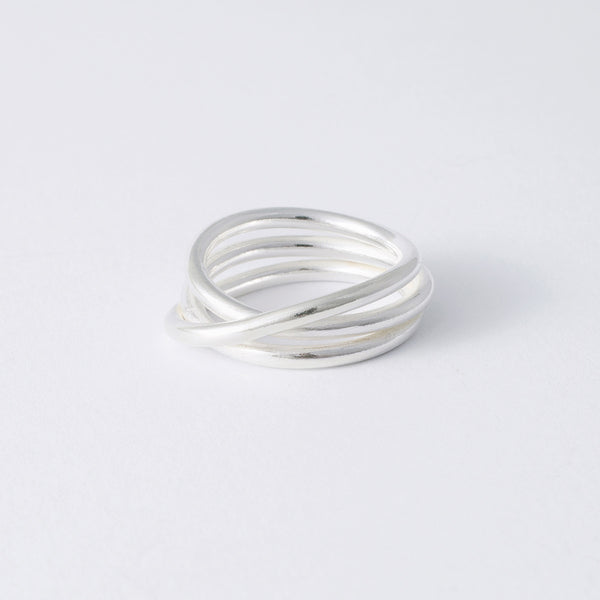 'Silver Wrap' Ring