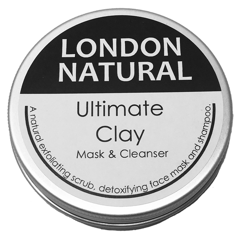 Ultimate Clay Mask - Rhassoul Clay from London Natural