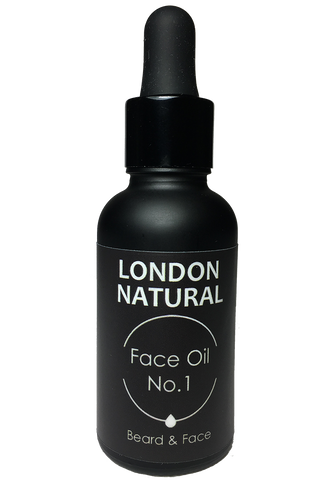 Face Oil No.1 - London Natural Beard Oil & Moisturiser