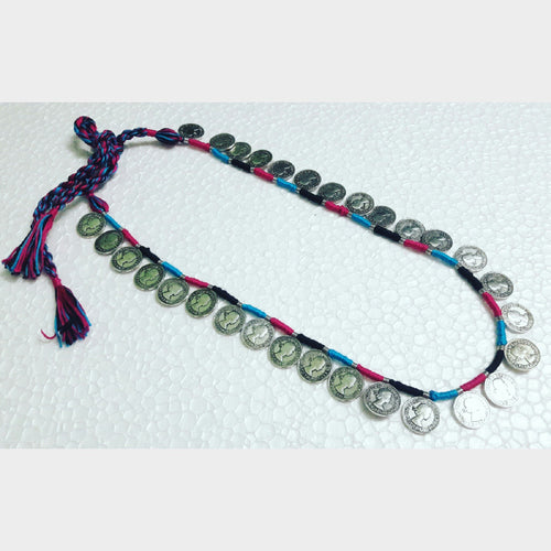 Colourful Gini Long Necklace