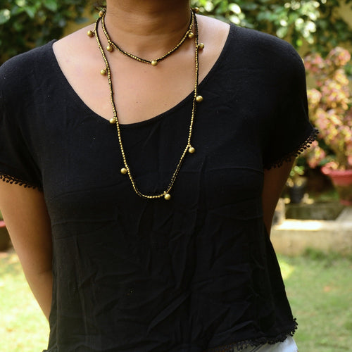 Dokra Necklace Long 3