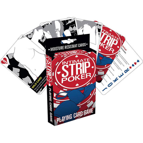Intimate Strip Poker Card Game