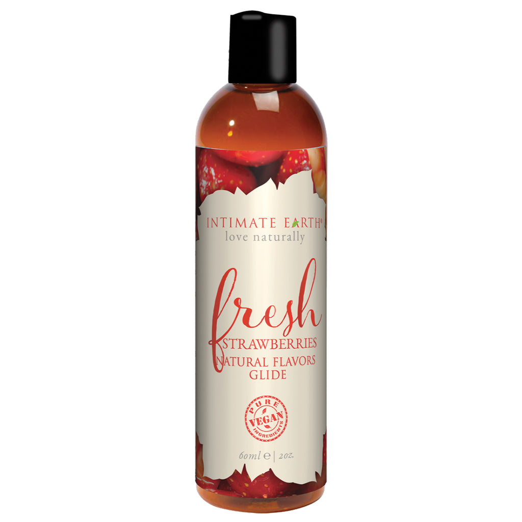 Intimate Earth Lube Strawberry 2oz
