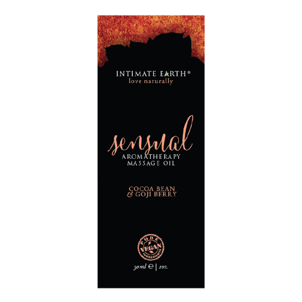 Intimate Earth Massage Oil - Sensual 1oz