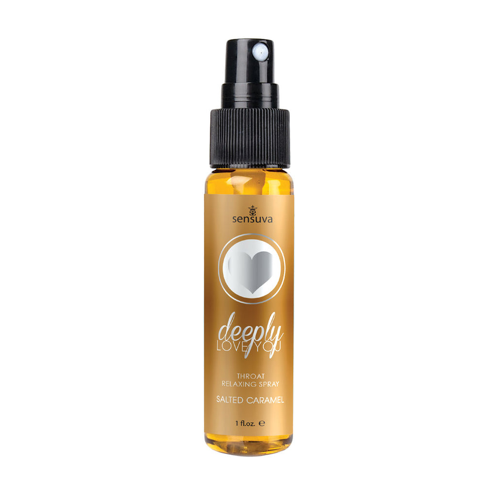 Sensuva Deeply Love You Throat Relaxer 1oz. - Salted Caramel