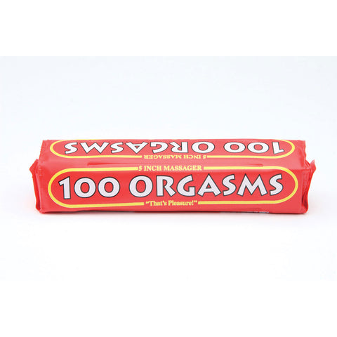 100 Orgasms Massager w/case