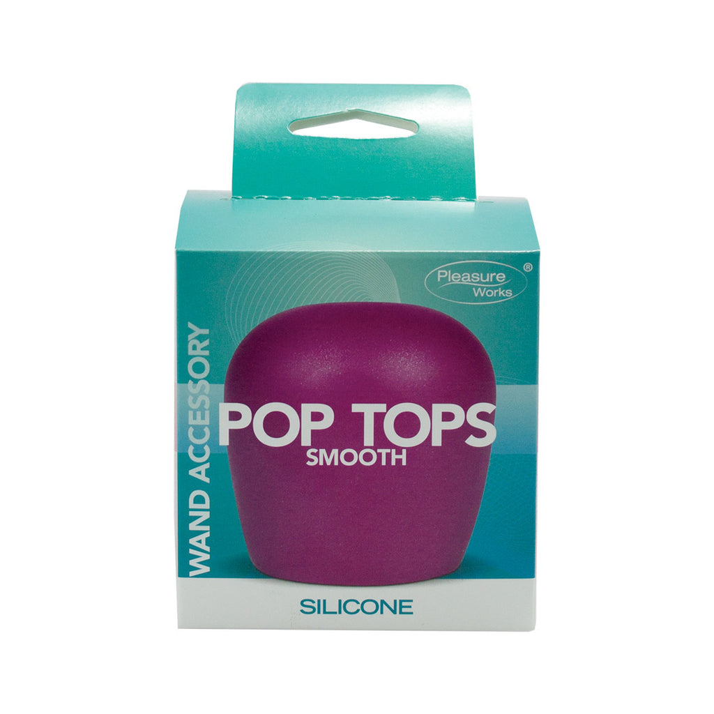 Pop Top Wand Attachment Smooth Fuchsia