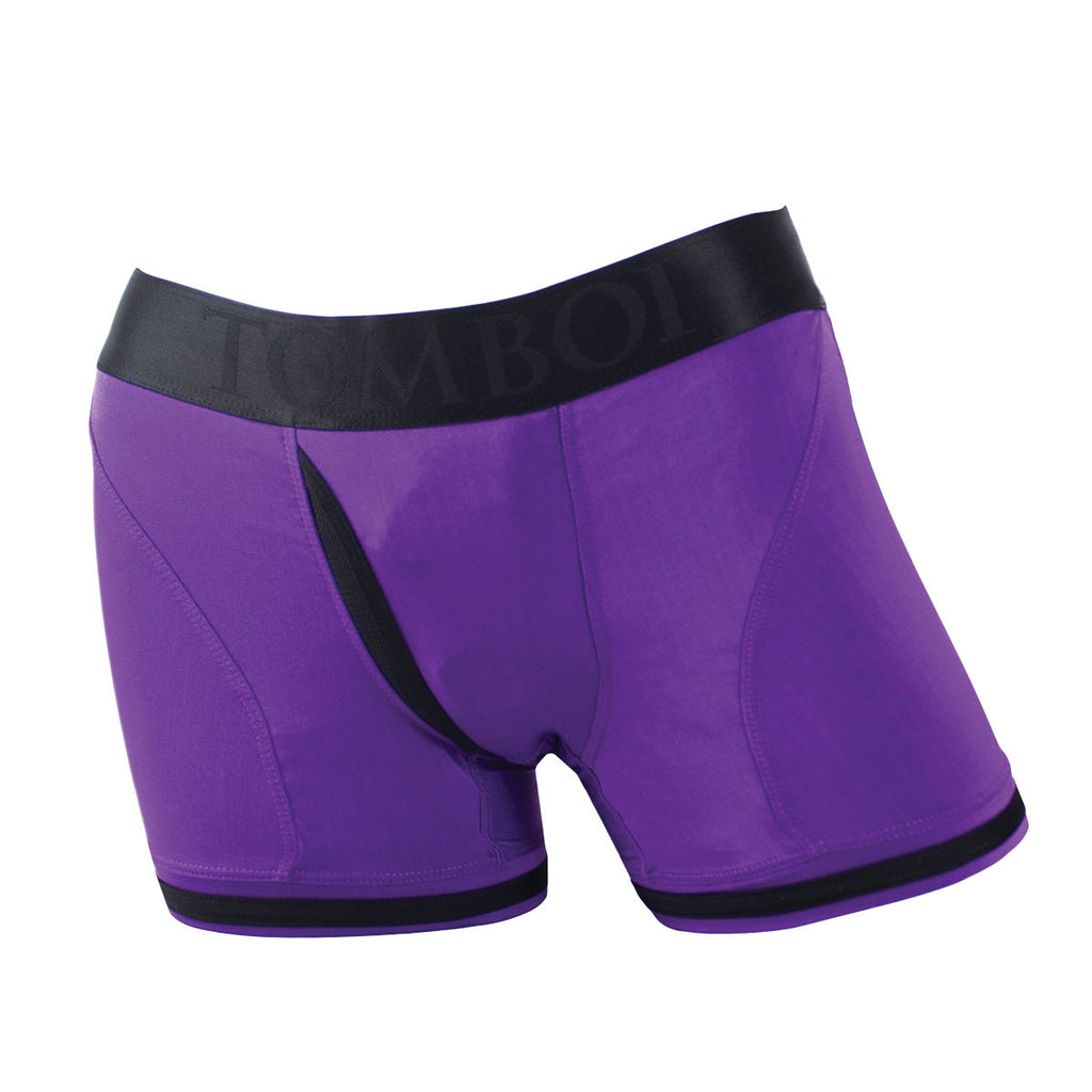 SpareParts Tomboii Purple/Blk Nylon - XS *WITH FREE VeDO Bam Mini Bullet*
