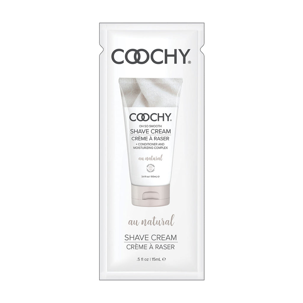 Coochy Shave Cream 15ml. 24pc. Display - Au Natural