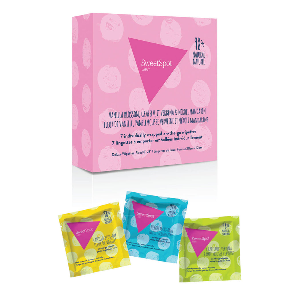 Sweet Spot Multipack Wipettes 7 ct.
