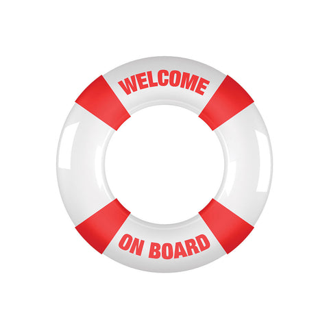 Buoy Welcome On Board C-Ring