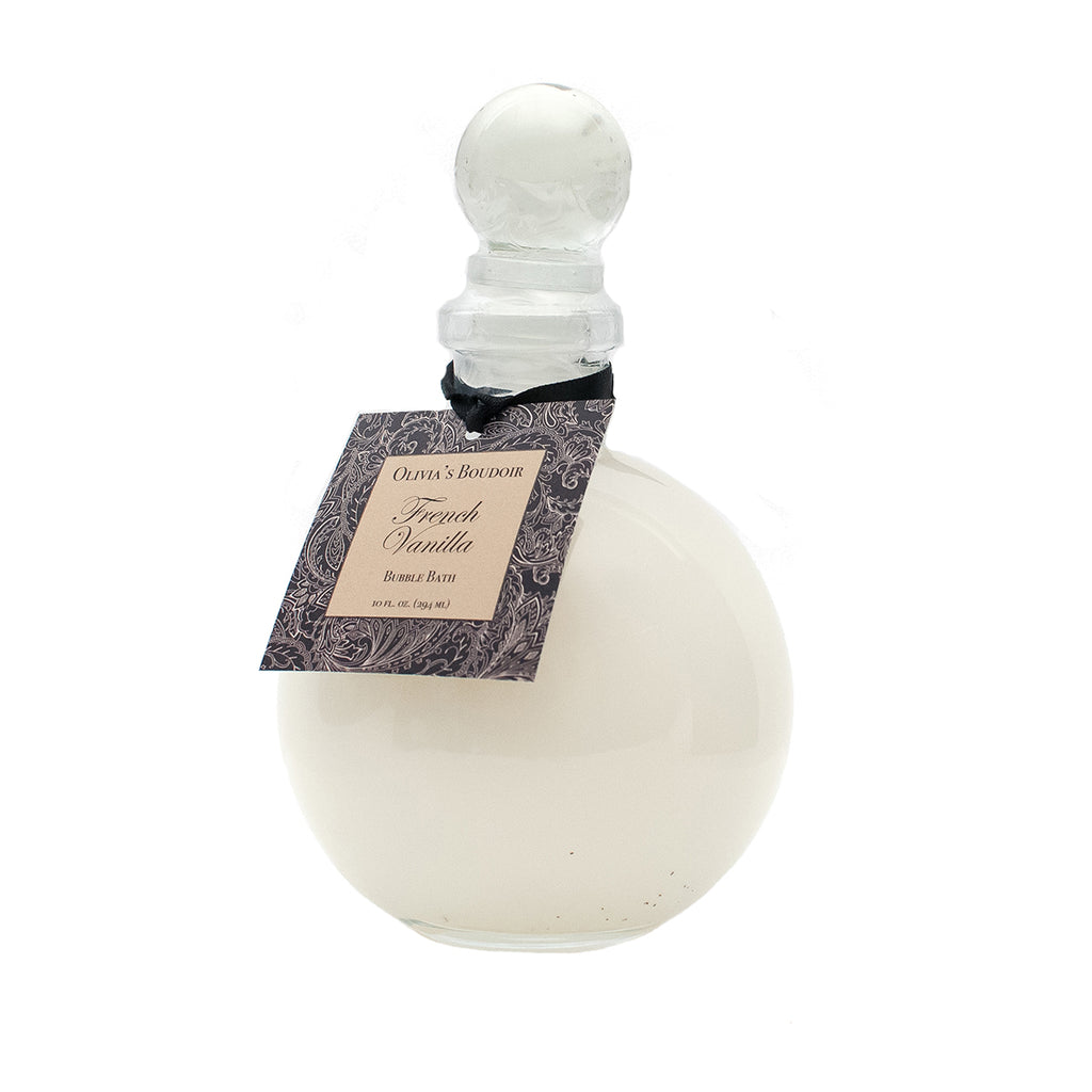 Olivia's Boudoir Bubble Bath 10oz. - French Vanilla