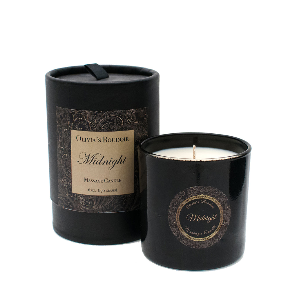 Olivia's Boudoir Candle 6.5oz - Midnight