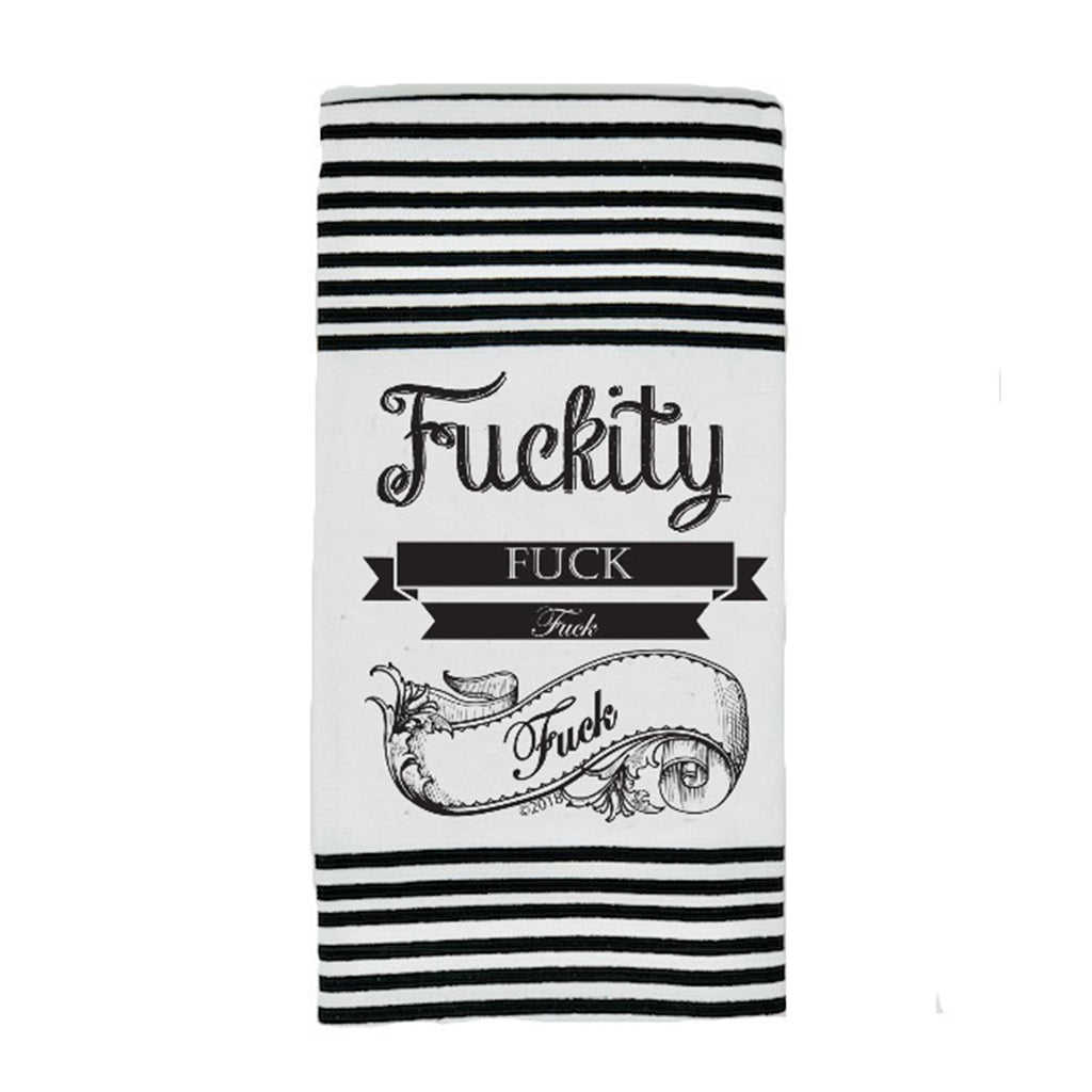 Twisted Wares Fuckity Fuck Fuck Fuck Terry Towel