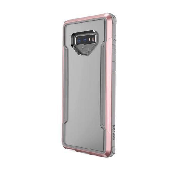 Capa Samsung Galaxy Note 9 X-Doria Original Defense Shield Rosa Ouro