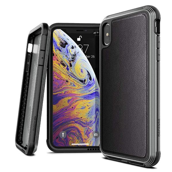 Capa iPhone Xs Max X-Doria Original Defense Lux Couro