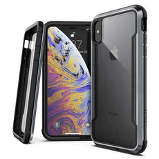 Capa Anti Impacto iPhone Xs Max Original X-Doria Defense Shield Preto