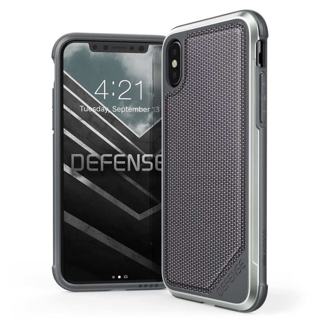 Capa Iphone X Original Defense Lux Nylon Balistico