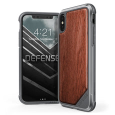 Capa Iphone X Original X-Doria Defense Lux Madeira