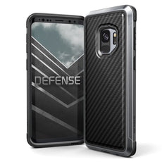 Capa para Galaxy S9 Plus X-Doria Original Defense Lux Fibra de Carbono