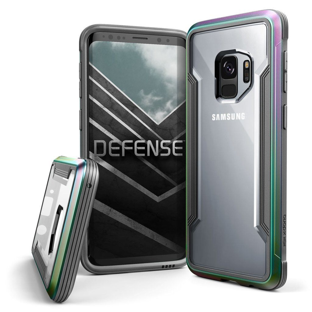 Capa para Galaxy S9 X-Doria Original Defense Shield Irisdescente