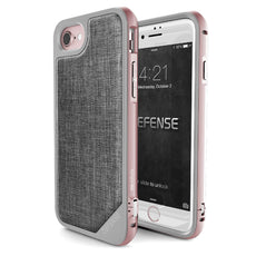 Capa Iphone 7 e 8 X-Doria Defense Lux Rosa