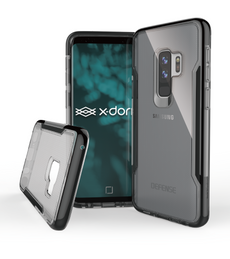 Capa Para Galaxy S9 Plus Original X-Doria Defense Clear Preto