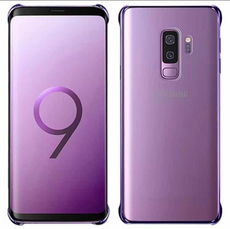 Capa Case Samsung S9 Plus Clear Cover Violeta