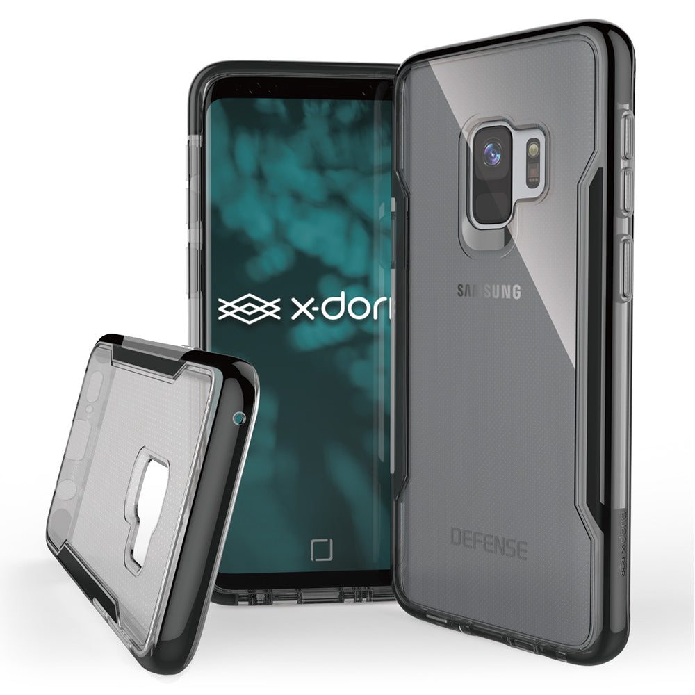 Capa para Galaxy S9 Original X-Doria Defense Clear Preto