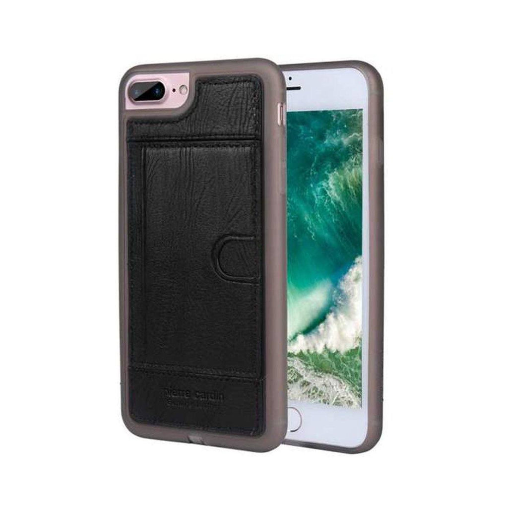 Capa Iphone 7 Plus e 8 Plus Original Pierre Cardin Couro Premium